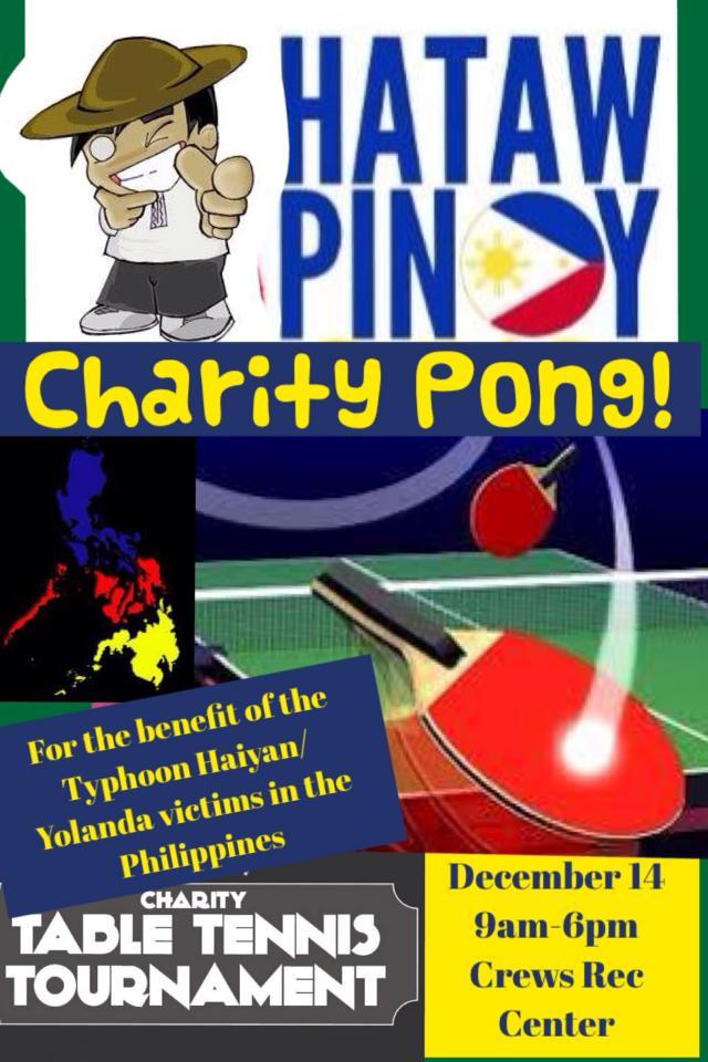 ping pong charity